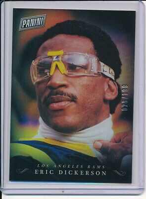 2018 PANINI BLACK FRIDAY ERIC DICKERSON HOLO FOIL SP PARALLEL D 28199
