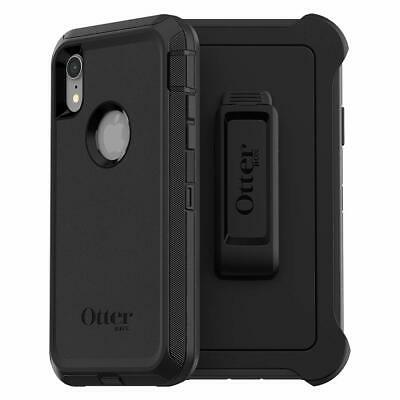OtterBox DEFENDER SERIES Case - Holster for iPhone XR - Black