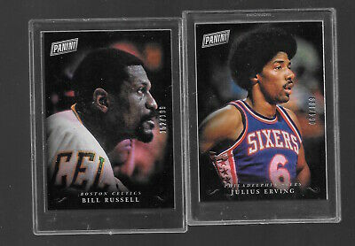 2018 PANINI BLACK FRIDAY JULIUS ERVING DR J PANINI COLLECTION 64199
