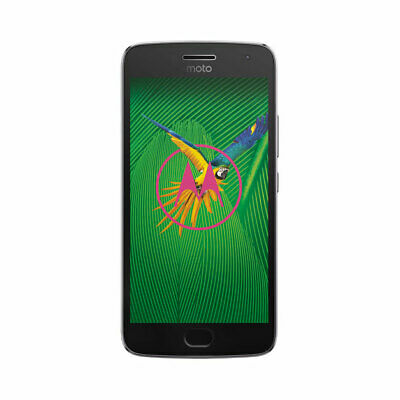 Motorola MOTO G5 Plus XT1687 32GB Lunar Grey Factory Unlocked Smartphone