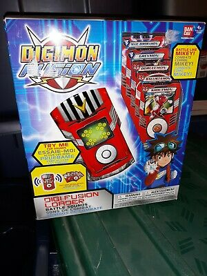 Digimon Fusion Digi-fushion Loader NEW IN BOX