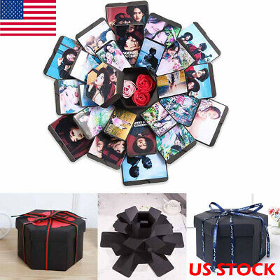Explosion Box Scrapbook DIY Photo Album Scrapbook Creative Photo Album Gift Box