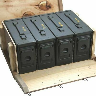 Ammo Cans  Ammo Box in Military Surplus Wood Ammo Crate 4 - M19A1 30cal