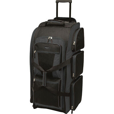 Travelers Club Luggage 30 Xpedition Multi-Pocket Rolling Duffel NEW