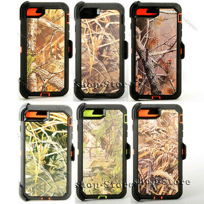Defender iPhone 7 - iPhone 8 - iPhone SE 2020 Realtree Case wHolster Belt Clip
