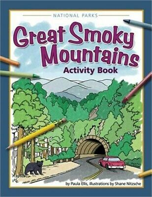 Great Smoky Mountains Activity Book Paperback or Softback