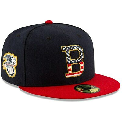 New Era Baltimore Orioles 2019 MLB 4th of July 59Fifty Hat Stars - Stripes