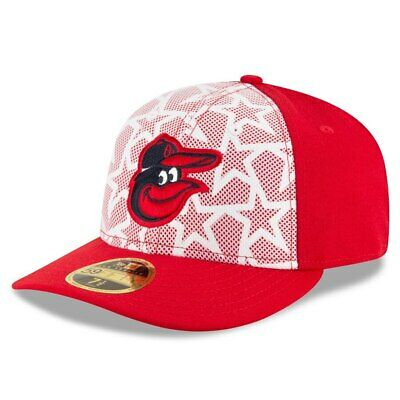 New Era MLB 4th of July Stars Stripes 59Fifty Low Profile Hat Baltimore Orioles