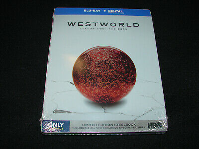 Westworld Season Two The Door Blu-ray - Digital Limited Edition Steelbook NEW