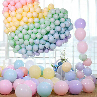 100pcs 10 Inch Macaron Pastel Color Latex Balloon for Birthday Party Decoration