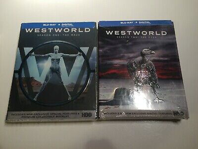 Westworld Season 1 - 2 blu-ray - digital newsealed HBO