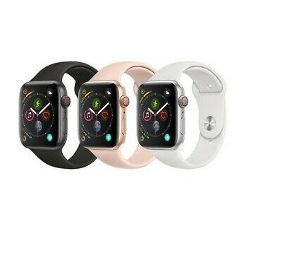 Apple Watch Series 4 4044mm Aluminum GPS - GSM Cellular Smartwatch wSport Band