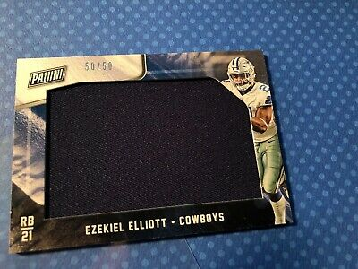 2018 Panini Black Friday Ezekiel Elliott 5050 Jumbo Jersey Dallas Cowboys EE
