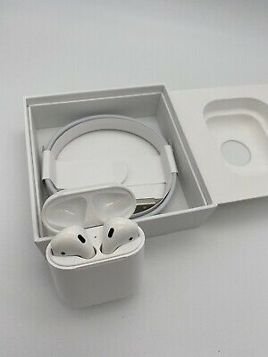 Apple AirPods 2nd Generation with Charging Case Latest Model - White-MV7N2AMA