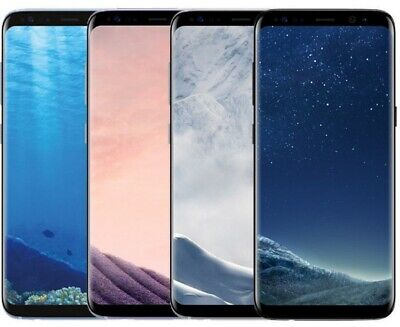 Samsung Galaxy S8 G950U 64GB Factory Unlocked Verizon AT-T T-Mobile All Color