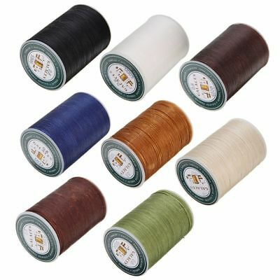 0-8mm Waxed Thread Repair Cord String Sewing Leather Hand Wax Stitching Craft