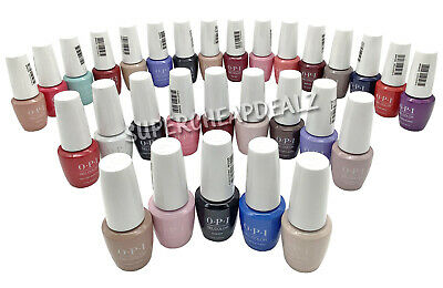 OPI GelColor Soak-Off Gel Polish 0-25 oz  7-5ml MINI - ANY COLOR NEW AUTHENTIC