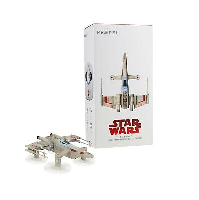 Propel Star Wars T-65 X-Wing Battle Drone W Real Lasers and App for AndroidiOS