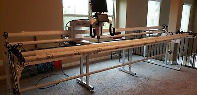 HQ Fusion 12 longarm quilting machine with ProStitcher- Art - Stitch included