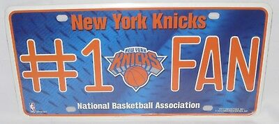 NEW YORK KNICKS License Plate Car Accessories Collectible NBA Basketball NEW