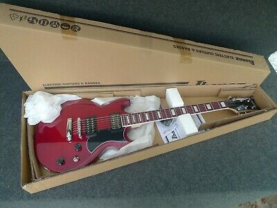 IBANEZ GAX30 TCR ELECTRIC SOLID GUITAR Transparent Cherry Red Infinity Pickups