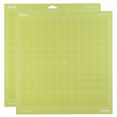 CRICUT Cutting Mat 12 x 12 Standard Grip 2 Pack - 2 Mats NEW - 2003546