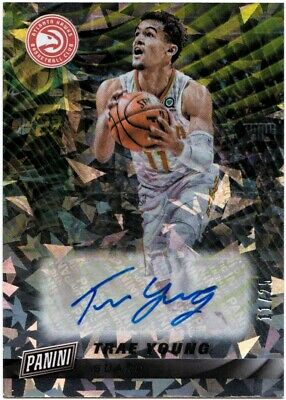 2019 Cyber Monday TRAE YOUNG Cracked Ice Autograph Auto SSP 25 - HAWKS