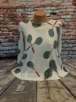 Anthropologie Wimbledon Pullover by Field Flower Size M
