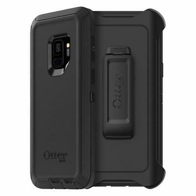 OtterBox DEFENDER SERIES Case - Holster for Galaxy S9 ONLY - Black