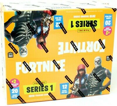 2019 Panini FORTNITE Series 1 Trading Cards 12 Fat Pack Box - 240 Total Cards