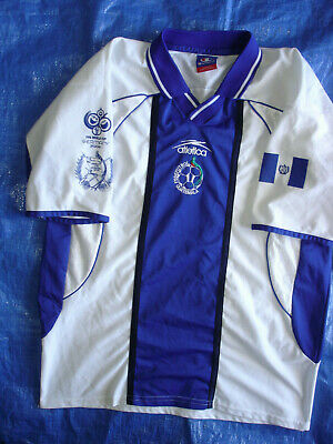 RARE MENS LARGE ATLETICA GUATEMALA 2006 NATIONAL WORLD CUP SOCCER JERSEY-LNWOT