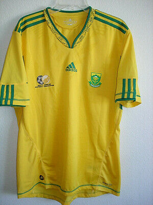 RARE MENS LARGE ADIDAS SOUTH AFRICA 2010 WORLD CUP SOCCER JERSEY-LNWOT