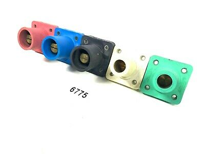 CROUSE HINDS E1016 SERIES 34 THREADED STUD CAMLOCK PANEL MOUNT 6755 ONE SET