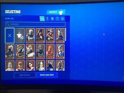 Fortnite Tournament Account All Platforms Please Read Desc- IG therealzachp