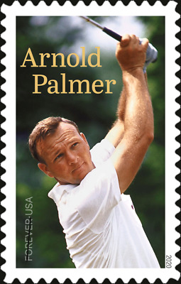 5455 2020 Arnold Palmer Single Ships after march 15 2020 - MNH