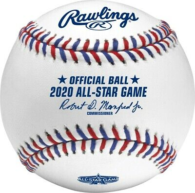 2020 MLB Official All-Star Game Baseball in Box - Los Angeles Dodgers