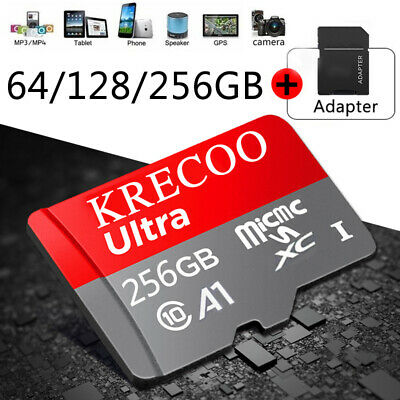 NEW 64GB128GB256GB Memory Card Class10 Fast Flash TF for Camera - Phone - Car