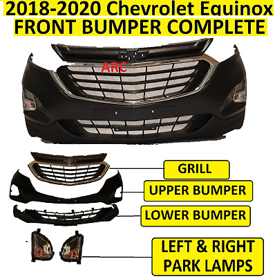 2018 2019 2020 CHEVROLET CHEVY EQUINOX FRONT BUMPER ASSEMBLY COMPLETE