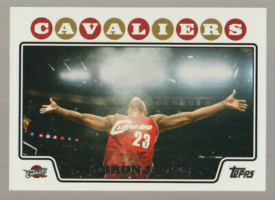 LeBRON JAMES Cavaliers 2008-09 Topps 23 ICONIC CARD Mint Condition SEE SCANS