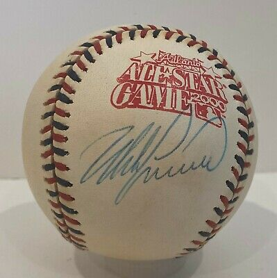 Mike Lieberthal Signed 2000 All Star Game Baseball PSADNA COA Phillies AUTO