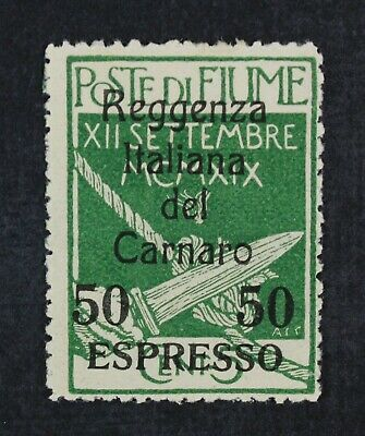 CKStamps Italy Stamps Collection Fiume ScottE5 Mint H OG