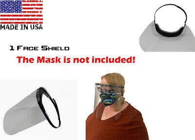 Face Shield Guard Protector Clear-Head Band MADE in the USA