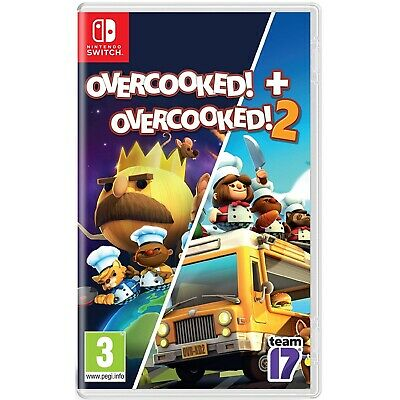 Overcooked Special Edition - Overcooked 2 - Nintendo Switch - Region Free