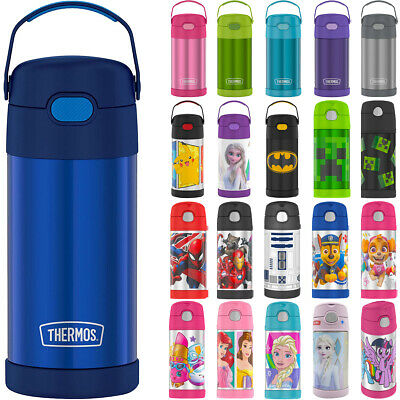 Thermos 12 oz- Kids Funtainer Vacuum Insulated Stainless Steel Water Bottle