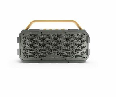 Photive M90 Portable Wireless Bluetooth Speaker with Built-In Subwoofer