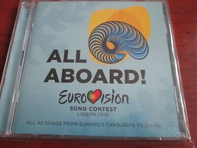 Songs of the Eurovision Song Concert - Lisbon 2018 2 CD NEW SEALED