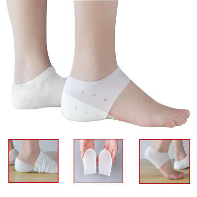 Invisible Height Lift Insoles Heel Sock Liners Increase Insole Pain Relief OFZ