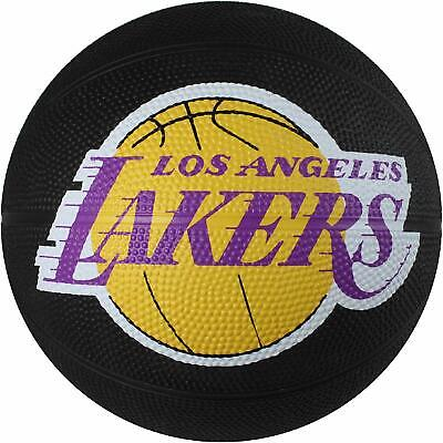 Los Angeles Lakers Spalding NBA Mini Rubber Basketball Size 3  22 inch