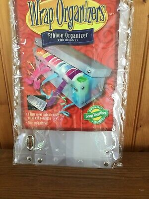Ribbon Organizer With Dividers New