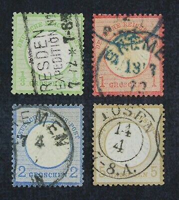 CKStamps Germany Stamps Collection Scott2 4 5 6 Used